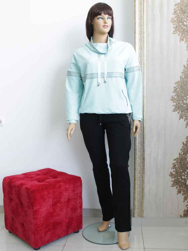 Костюм спортивный женский трикотажный (двунитка) большого размера. Магазин  «Пышная Дама», 331afd8ce04